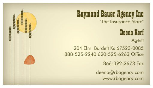 Deena Korf business card